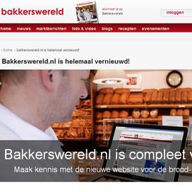 Bakkerswereld.nl volledig vernieuwd