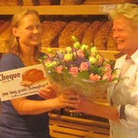 Bakker Roodenrijs geeft jaar gratis brood weg