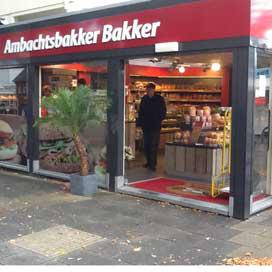 Nieuwe winkel Ambachtsbakker Bakker