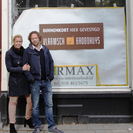 Opening tweede Baker's Café Rotterdam