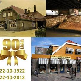 Bakkerij Gorthuis bestaat 90 jaar