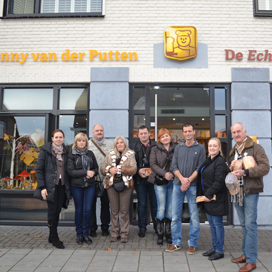 Oekraïnse bakkers met Enzym op bezoek in Nederland