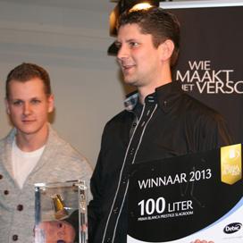 Frank van Haarlem wint Prima Blanca Award