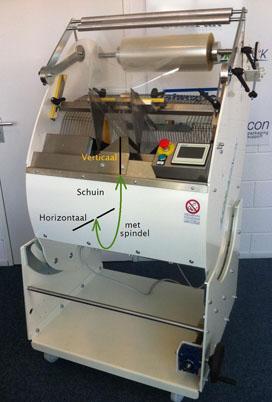 Compacte inpakmachine voor bakkerijwereld