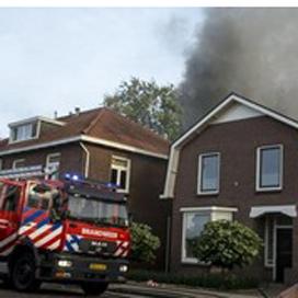 Bakkerij in Hengelo in brand