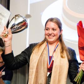 Talentenprijs Gouden Gard voor Joyceline van Ommen