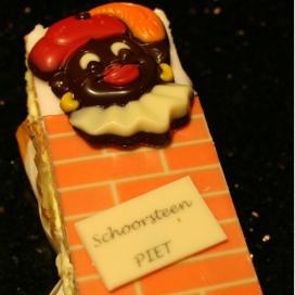 Bakker speelt in op Zwarte Piet-discussie met 'schoorsteenpietjes