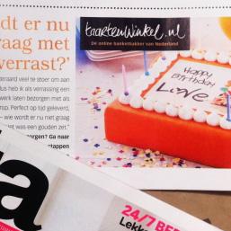 Taartenwinkel.nl geeft beursgangers inkijkje in lastige verslogistiek