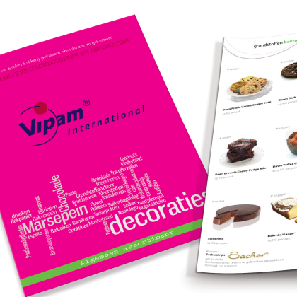 Nieuwe catalogus 2014 van Vipam