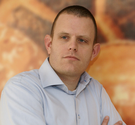 Martijn Verkerk secretaris Nederlands BoulangerieTeam