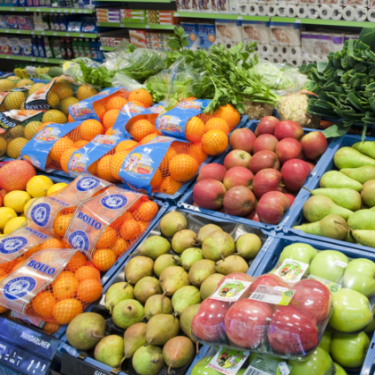 Supermarkten stappen in plan agf-consumptie