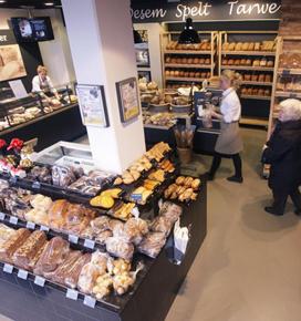 Flinke omzetstijging vernieuwde bakkerswinkel