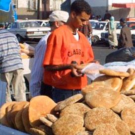 Geen brood in Marokko wegens staking
