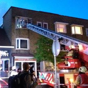 Brand bakkerij Simbad vermoedelijk aangestoken