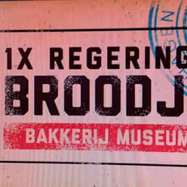 Bakkerijmuseum deelt regeringsbroodjes uit
