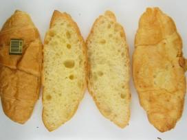 Weinig bladerende werking croissants