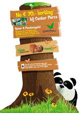 Zeelandia winkelactie met Pandabrood