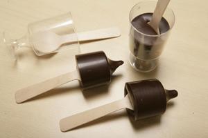 Chocoladeblokjes voor chocolademelk