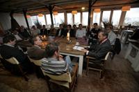Leden Bakery Society spreken voorzitter MKB-Nederland