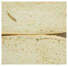Afschilferende korst bij voorgebakken brood