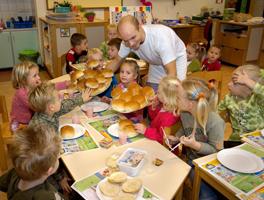 Bakkers actief voor Het Nationaal Schoolontbijt