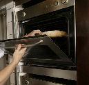 Schuurbrand na bakken brood
