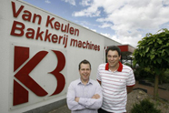 Nieuw management Van Keulen Bakkerijmachines