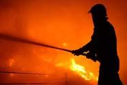 Bakkerij Vromans verwoest door brand