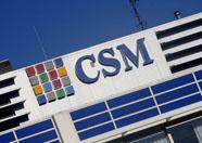 CSM onderuit op licht lager Damrak