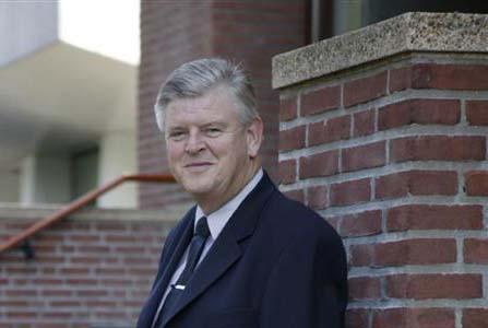 Theo Meijer officier in de Orde van Oranje Nassau