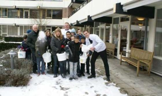 12.000 kilo bakkerszout ligt op straat