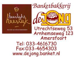 Halve eeuw banketbakker De Jong