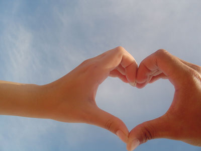 Bakkersechtpaar in All you need is love