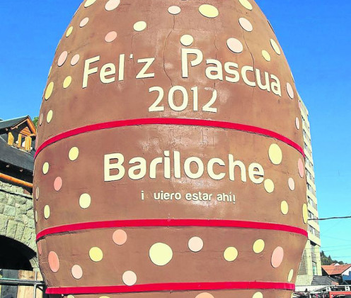 Chocolade-paasei van 7500 pond