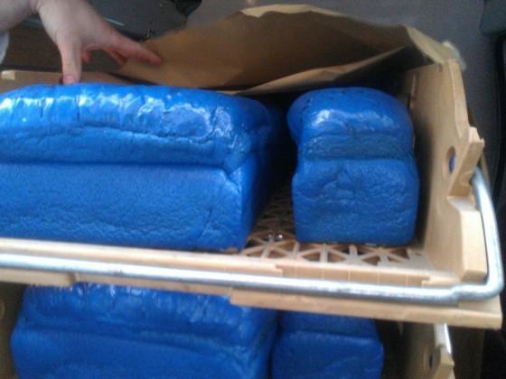 Blauwe broden-actie van Dukers