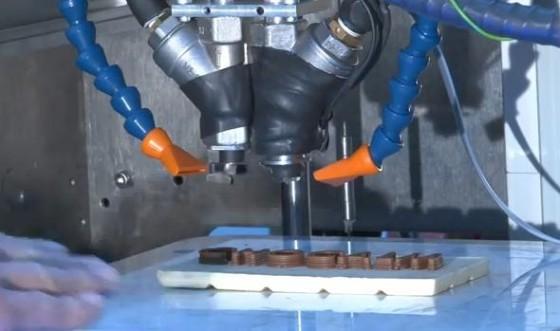 Chocolade-3D-printer op Ebay