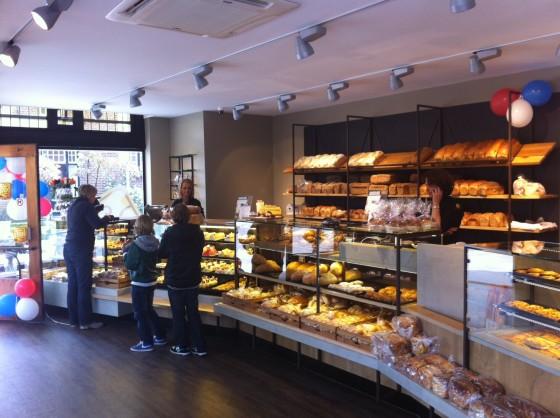 Nieuwe winkel bakkerij Koehorst