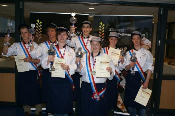 MBO-kampioenen brood- en banketbakken