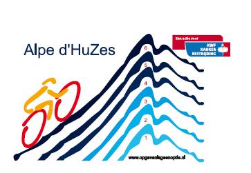 Voorlichtingsbureau Brood steunt Alpe d'HuZes