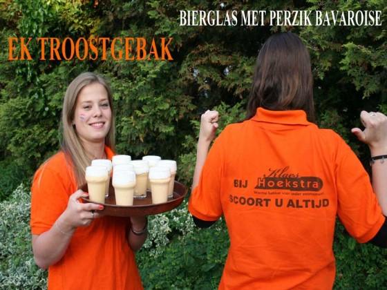 Ludiek uithuilen bij bakkerij Klaes Hoekstra