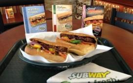 Subway test broodjes voor veganisten