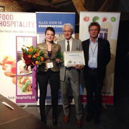 Yam van Bake Five wint Jaarprijs Goede Voeding 2014