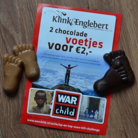 Eigenaar Klink & Englebert beklimt Kilimanjaro voor War Child