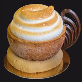 Italiaans koffiegebak – koffiekop