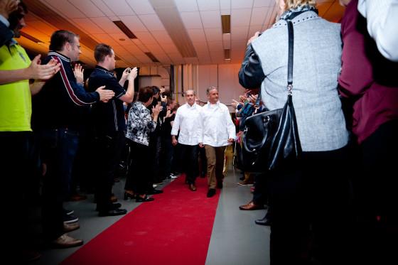 Foto-verslag inauguratie Meesters Boulanger