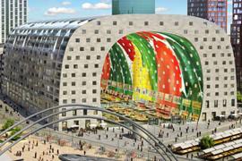 'Ingrijpen nodig bij Markthal Rotterdam'