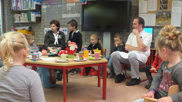 Tijd als thema Nationaal Schoolontbijt
