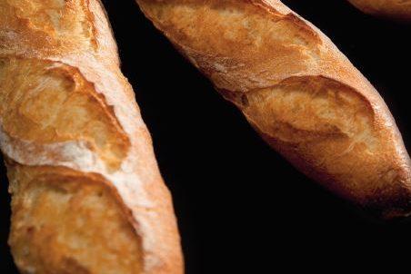 Traditionele Franse stokbroden en harde broodjes