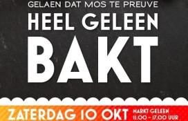 Limburgse bakkers organiseren nieuw evenement 'Heel Geleen bakt'