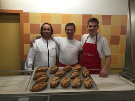 Fotoreportage: kampioenen BoulangerieTeam bij Wolfisberg in Genève